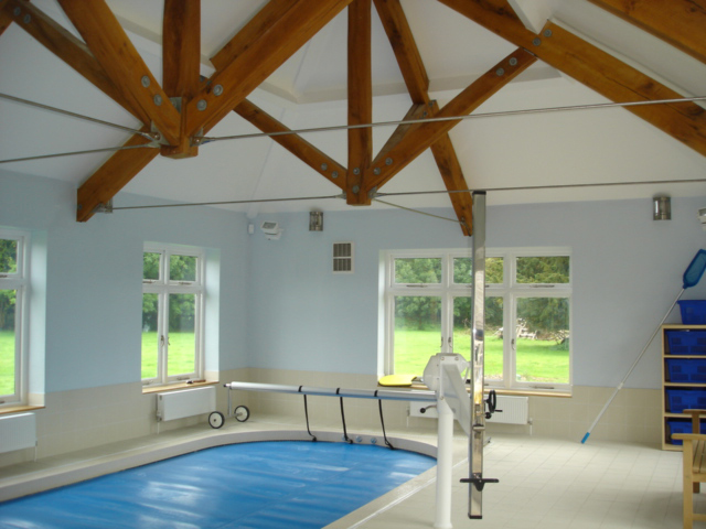 Putteridge Park, Hydrotherapy Pool - installed