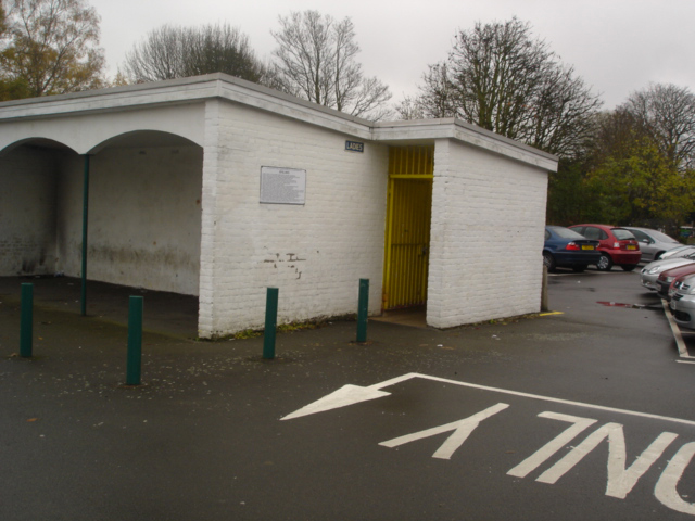 King George Public Toilets - before