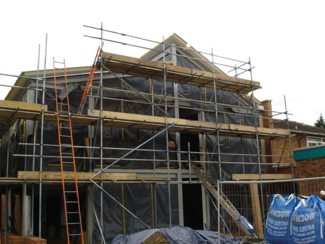 Chalfont College, Solar Centre - in progress